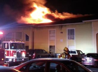 2-Alarm Fire at Spanish Garden Apartments on Royal Lane