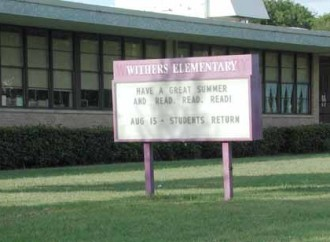 Withers Elementary School Lauded